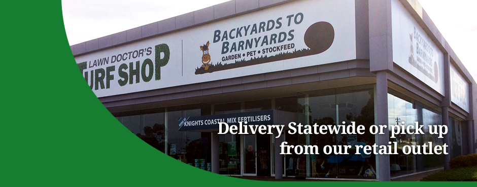 Delivery Statewide or Pick up from Our Retail Outlet