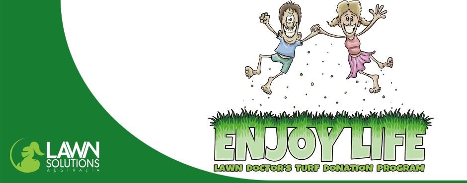 Enjoy Life: Lawn doctor's turf donation program